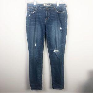 Old Navy | Boyfriend Distressed Jeans